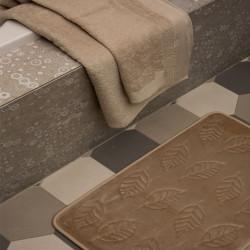 Ταπέτο memory Μπεζ & 2σετ πετσέτες