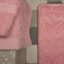 Ταπέτο memory ροζ & 2σετ πετσέτες
