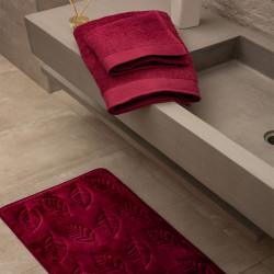 Ταπέτο memory Μπορντό & 2σετ πετσέτες