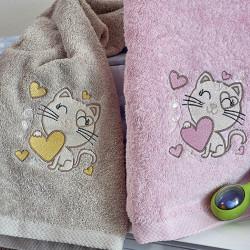 Παιδικές πετσέτες Γατάκι